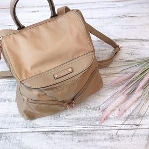 Rosetti Utiliti Rush Hour Taupe/Rose Gold Backpack